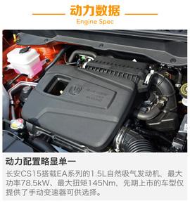 长安CS15全系导购