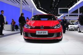 大众高尔夫GTI车展实拍