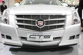 凯迪拉克CTS车展实拍
