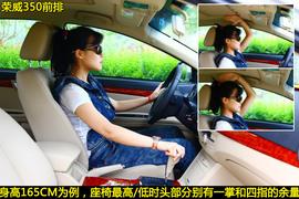 荣威350VS本田锋范图解