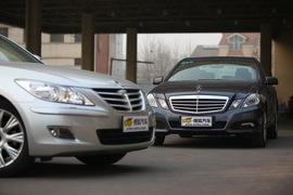 2010款奔驰E260 CGI试驾实拍