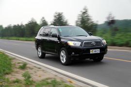 2009款丰田汉兰达深度测试