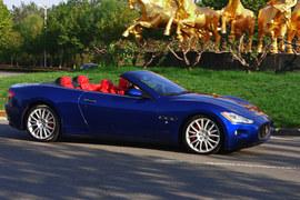 2010款玛莎拉蒂GranCabrio 4.7L试驾图组