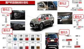 2016款广汽三菱欧蓝德 2.4L四驱尊贵版7座