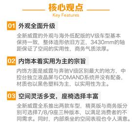 2016款福建奔驰威霆2.0T商务版试驾