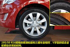2011款北京现代瑞纳两厢1.4L自动豪华型图解