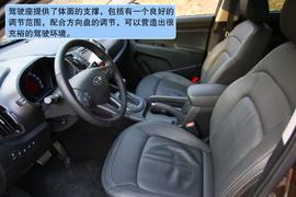 2011款起亚智跑2.4L四驱版试驾