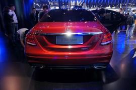 奔驰E300 Sport广州车展实拍