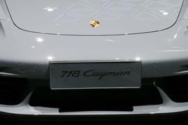 保时捷718 Cayman广州车展实拍