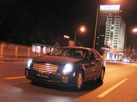 2006款凯迪拉克CTS实拍