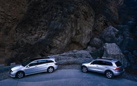 2011款大众途锐Hybrid混合动力版试驾实拍