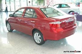2007款丰田威驰特别版实拍