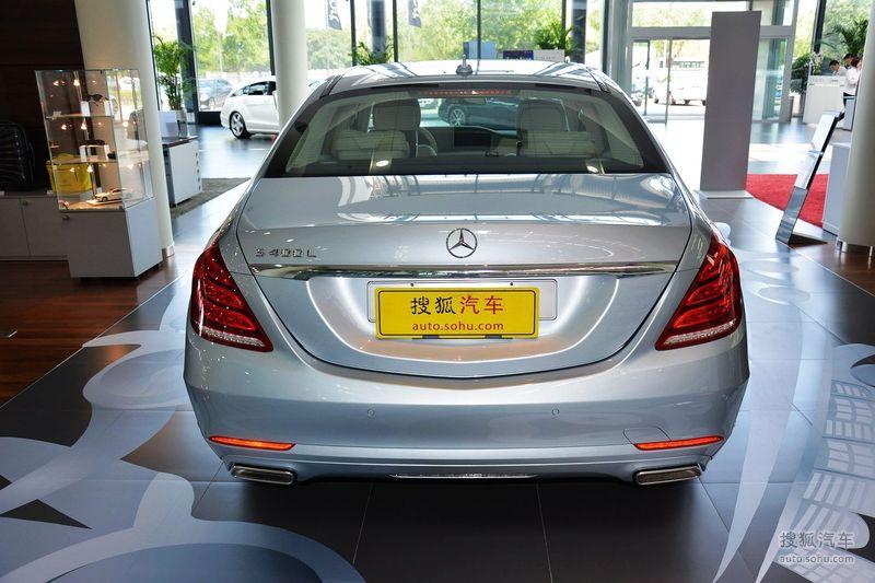 2014奔驰s600l报价_【 奔驰S级图片】_钻石银_外观_搜狐汽车网