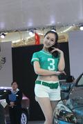 2013烟台秋季车展模特