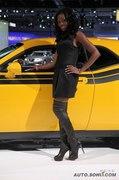 2009洛杉矶车展美女模特