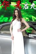 中华2号车模 2013上海车展实拍