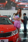 2013唐山车展车模美女图