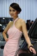 2011广州车展起亚4号车模