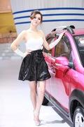 2011广州车展一汽2号车模