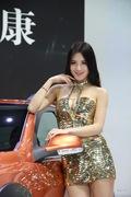 东风汽车4号车模