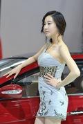 2011广州车展现代7号车模