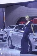 2013成都车展奥迪车模