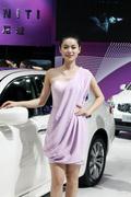 华中国际车展美女车模