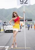 韩国美女车模李妍允户外性感写真