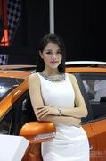 2013成都车展长安汽车模特