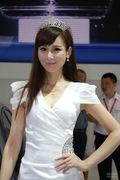 2011哈尔滨车展美女车模