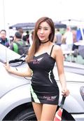 韩国AMC车模性感可爱身材迷人