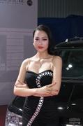 2013成都车展广汽菲亚特模特