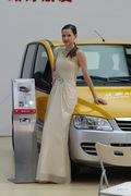 众泰5号车模 2013上海车展实拍