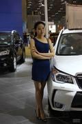 2013太原国际车展车模