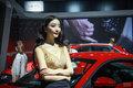 2016西安十一车展车模