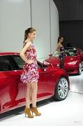 2011广州车展西亚特1号车模