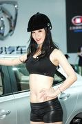2011广州车展宝骏1号车模
