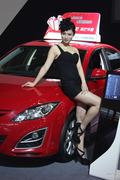 2013南京车博会车模图片