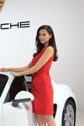 2013青岛国际车展车模风采-法拉利2