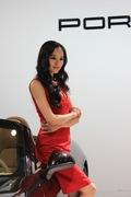 2013青岛国际车展车模风采-法拉利1