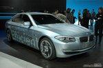 宝马5系混合动力车 车展实拍