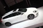 沃尔沃V60广州车展实拍