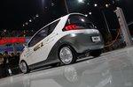荣威E1纯电动概念车 车展实拍