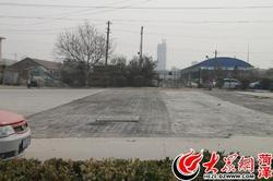 人民路废铁轨处路面正修复 4月6日可通车