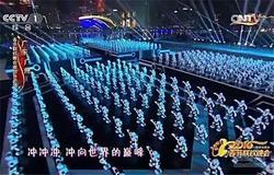春晚跳舞机器人空降山东淄博糖酒会?