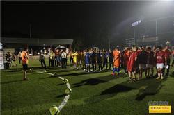 第二届东莞平安足球世界杯赛盛大开幕