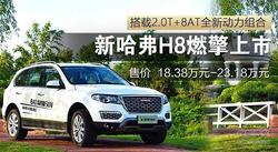 搭载2.0T+8AT全新动力组合哈弗H8燃擎上市