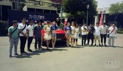 众泰T700亮相省城 20家媒体深度试驾体验
