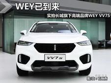 豪华、轻奢重新定义-搜狐实拍全新WEY VV7S