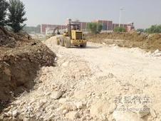 鞍山海城:二中东路开始施工 8月末竣工!